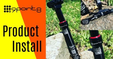 9point8 Fall Line Dropper Post Install | How to install a dropper seat post